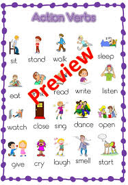 english verbs past present and future tense verb list with