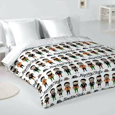 Duvet Meaning Hipster Class Hipster Man Single Duvet Cover Set Achica Double