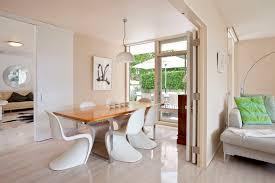 White Modern Dining Chair Modern Dining Chairs Interior Design Ideas