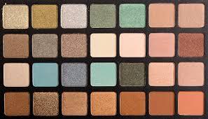 sneak peek natasha denona green brown eyeshadow palette photos