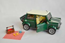 lego mini jeep lego and bmw reveal 1 077 part mini cooper ran when parked