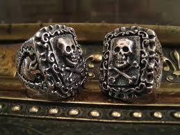 antique skull rings images Crazy pig designs vintage skull ring and new skull ring JPG