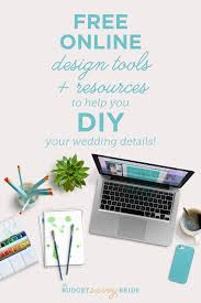 online design tools free design tools to help you diy your wedding the budget savvy