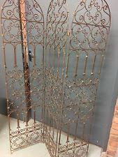 Wrought Iron Room Divider by Metal Screen Room Divider Ebay