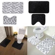 Memory Foam Toilet Rug Bath Mats