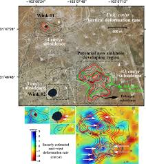 Smu Campus Map Geohazard Giant Sinkholes Near West Texas Oil Patch Towns Are