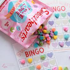 conversation hearts valentine bingo