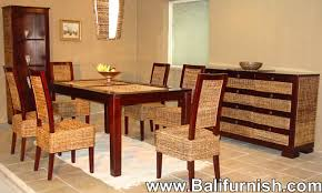 Rattan Kitchen Table by Dining Table Chairs Furniture Indonesia