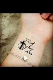 inspirational tattoos with meaning faith he walks with me