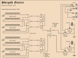 double neck bass 6stringguitar wiring plan talkbass com