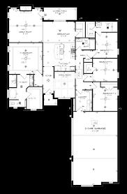 three car garage floor plans chatsworth 3 car stone martin builders
