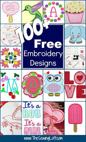 Free Kitchen Embroidery Designs 100 Free Embroidery Designs 100 Free Machine Applique And