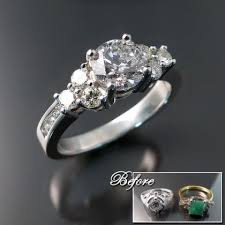 wedding rings redesigned engagement rings and wedding bands zoran designs jewellery