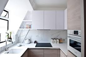 cuisine mansard u shaped kitchen open for all space 60 photos and tips