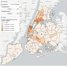 map of nyc areas what are the safest areas in nyc streeteasy