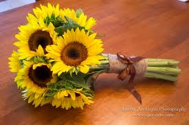 Sunflower Bouquets Gorgeous Flowers For Every Wedding Anniversary