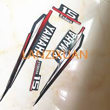 aliexpress com buy for yamaha 15hp two stroke outboard graphics