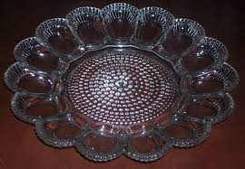glass egg plate with a southern twist living in today s south deviled