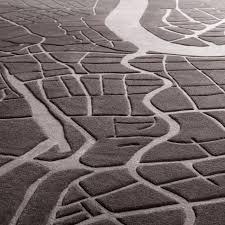 shanghai urban fabric map rug by four o nine cropland rug