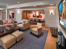 Living Room Vs Family Room by Finished Basements Add Space And Home Value Hgtv