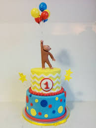 curious george birthday cake curious george 1st birthday cake by cake that bakery cakesdecor