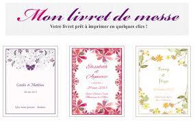livret de messe mariage pdf mon livret de messe livret à imprimer