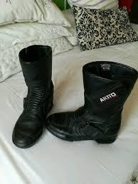 ladies motorbike boots ladies motorbike boots size 5 in clapham bedfordshire gumtree