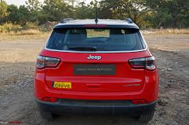 jeep compass petrol at official review team bhp