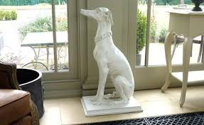 white carved whippet conservatory furniture from interiors