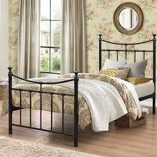 emily single metal bedframe