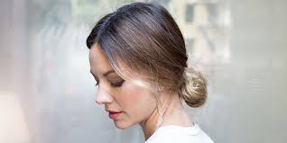 hairstyle for sagging jawline 11 ways to make your bun look less basic