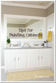 tips for painting cabinets paint your cabinets bathroom inspiration kitchen stuff and kitchens