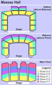 massey hall floor plan tickets