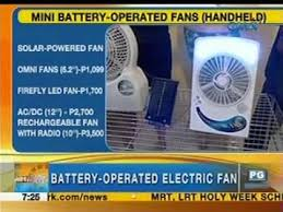 battery operated electric fan battery operated solar powered and rechargeable electric fans