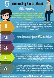 5 interesting facts about glasses visual ly