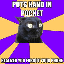 Forgot Phone Meme - puts hand in pocket realized you forgot your phone create meme
