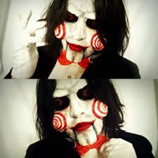 Really Good Halloween Makeup Halloween Makeup Billy The Puppet Cosplay Amino