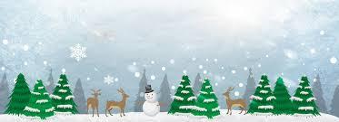 christmas snow winter cartoon background christmas snow winter