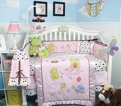 Rock N Roll Crib Bedding Soho Emily The Frog Crib Nursery Bedding Set 14 Pcs