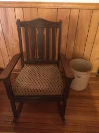 Mission Style Rocking Chair Antique Mission Style Rocking Chair Furniture In Winston