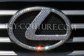 lexus emblem bling your lexus emblems select your set whats your color