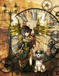 steampunk angel by zzzeus on deviantart steampunk style ii