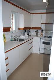 how can i make my oak kitchen cabinets look modern how to lay vinyl black and white flooring in stripes