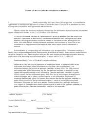 Examples Of Custody Agreements Notary Form Template Contract Template