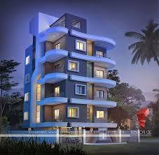 Apartment Amusing Modern Condominium Exterior Design And Mall - Apartment design concepts