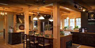 timber frame great room lighting timber frame homes by mill creek post beam company