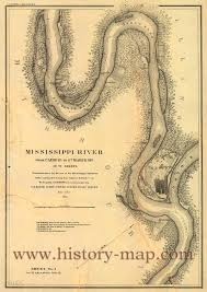 United States Mississippi River Map by Mississippi River From Cairo To St Marys