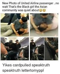 New Black Girl Meme - new photo of united airline passengerno wait that s the black girl