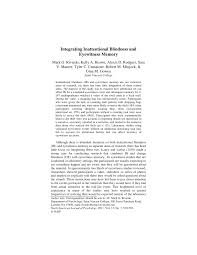Inattentional Blindness Example Integrating Inattentional Blindness And Eyewitness Memory Pdf