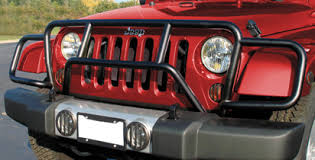 brush guard jeep grille guards jeep wrangler jk accessories